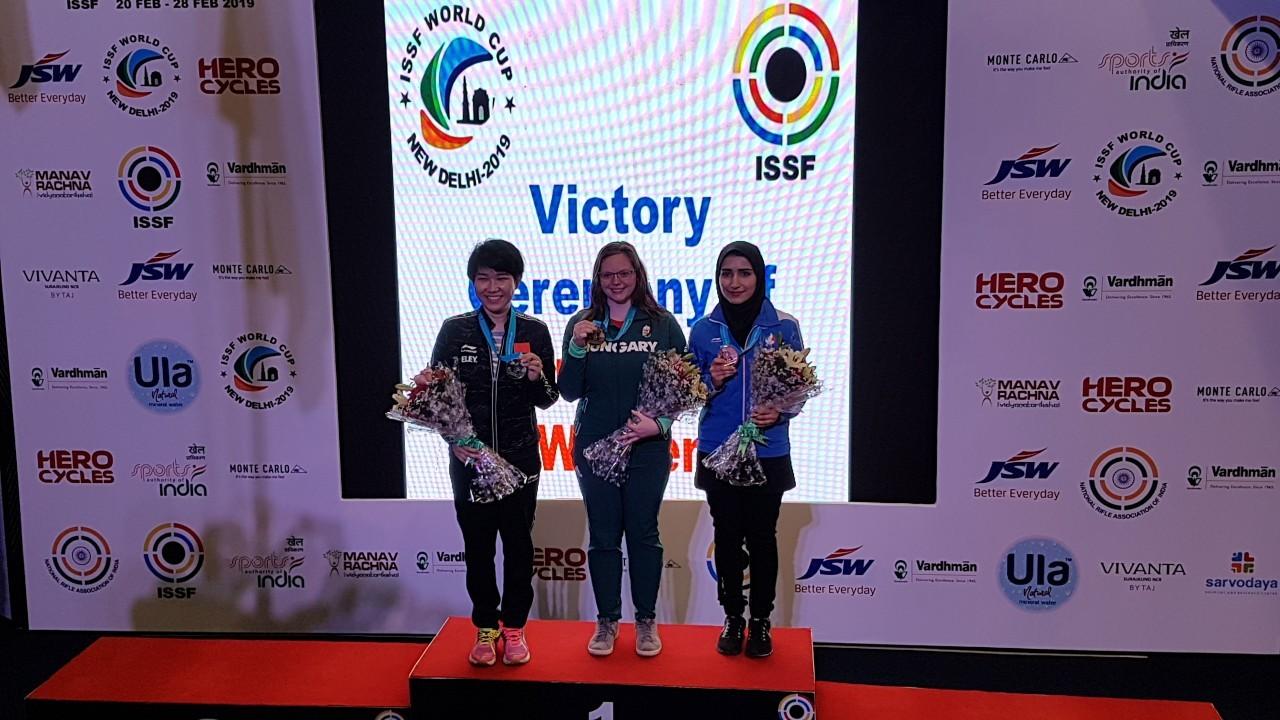 Major Veronika győzelme a riói világkupán