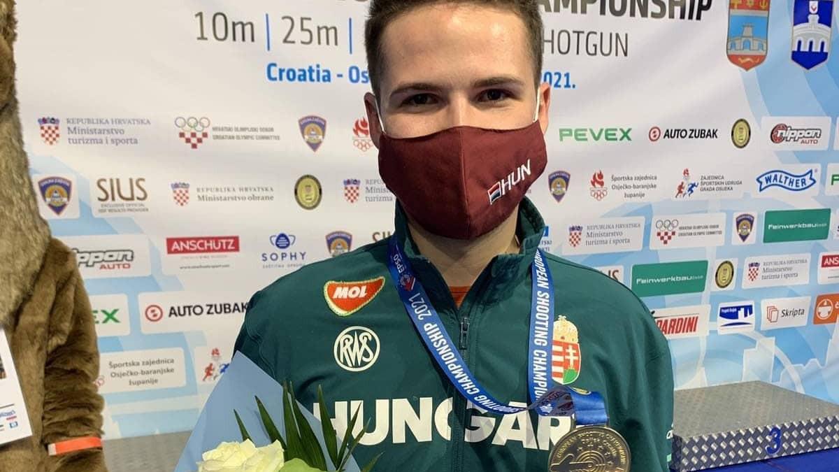 Péni aranyérmes az Európa-bajnokságon