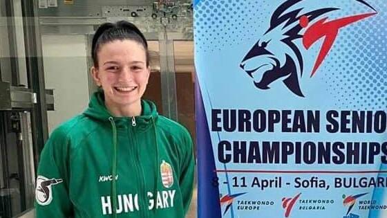 Füredi Rebeka a negyeddöntőkig jutott a kontinensviadalon