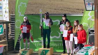 Tóth Zita és Úry Bálint a felnőtt bajnok az alpesi sízők között