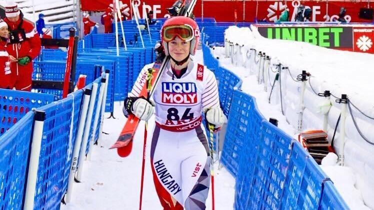Alpesi sí vb - Jó magyar szereplés a női szlalomversenyben