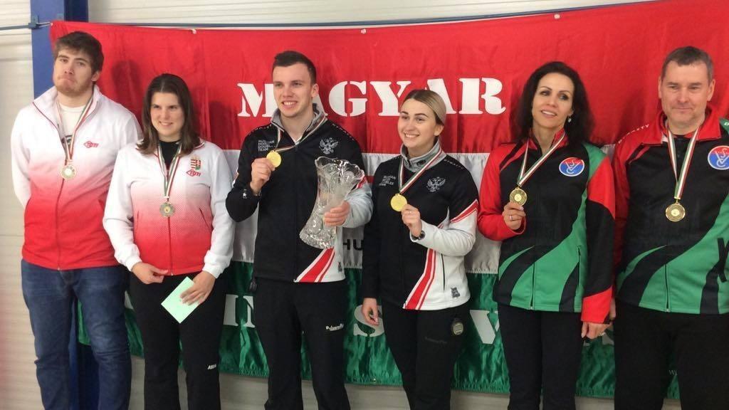 Magyar ezüst- és bronzérem a budapesti World Curling Tour-versenyen
