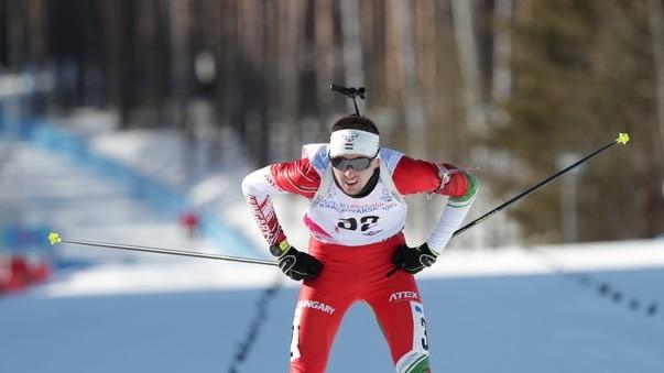 Téli Universiade - Büki Ádám javított a silövők üldözőversenyében