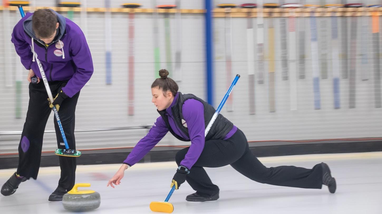 Ismét a Palancsa-Kiss duó a curling vegyespáros bajnok
