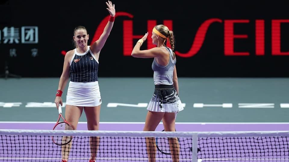 Babosék bejutottak az elődöntőbe a WTA-világbajnokságon