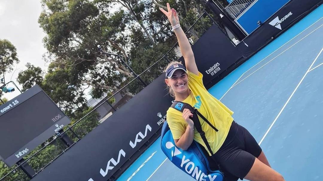 Babos Tímea újra győzelemmel kezdett egy Grand Slam tornán egyesben