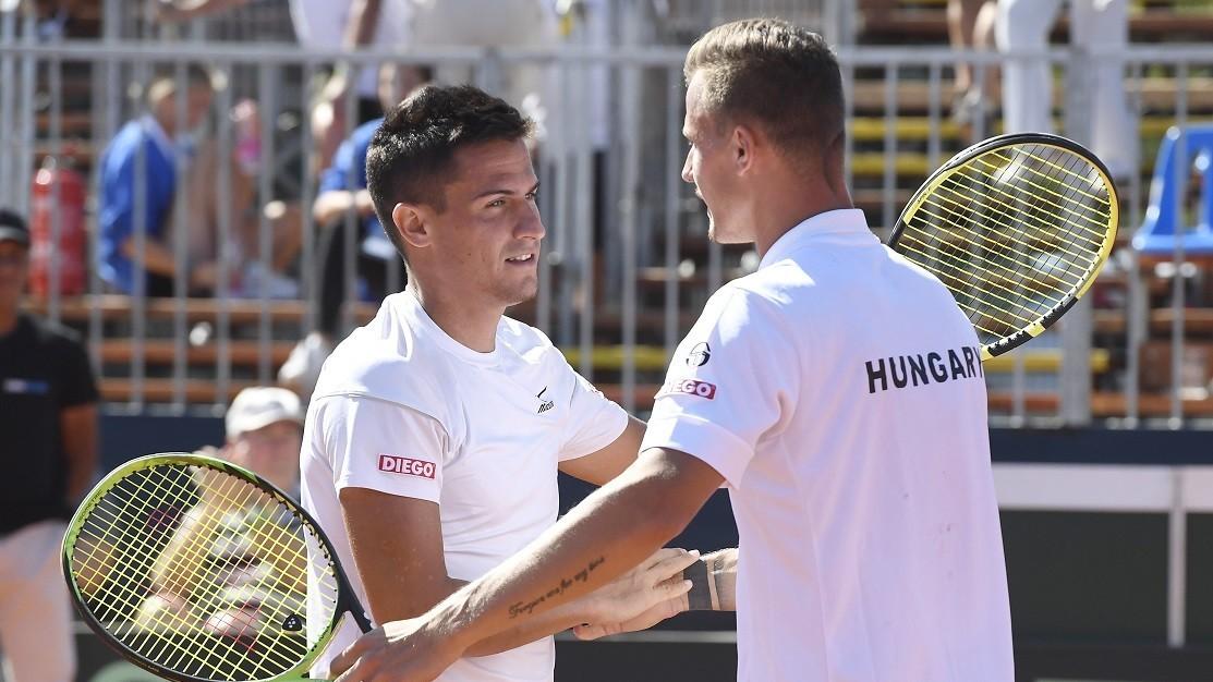 Az ötödik mérkőzésre maradt a döntés a Davis Kupa osztályozón