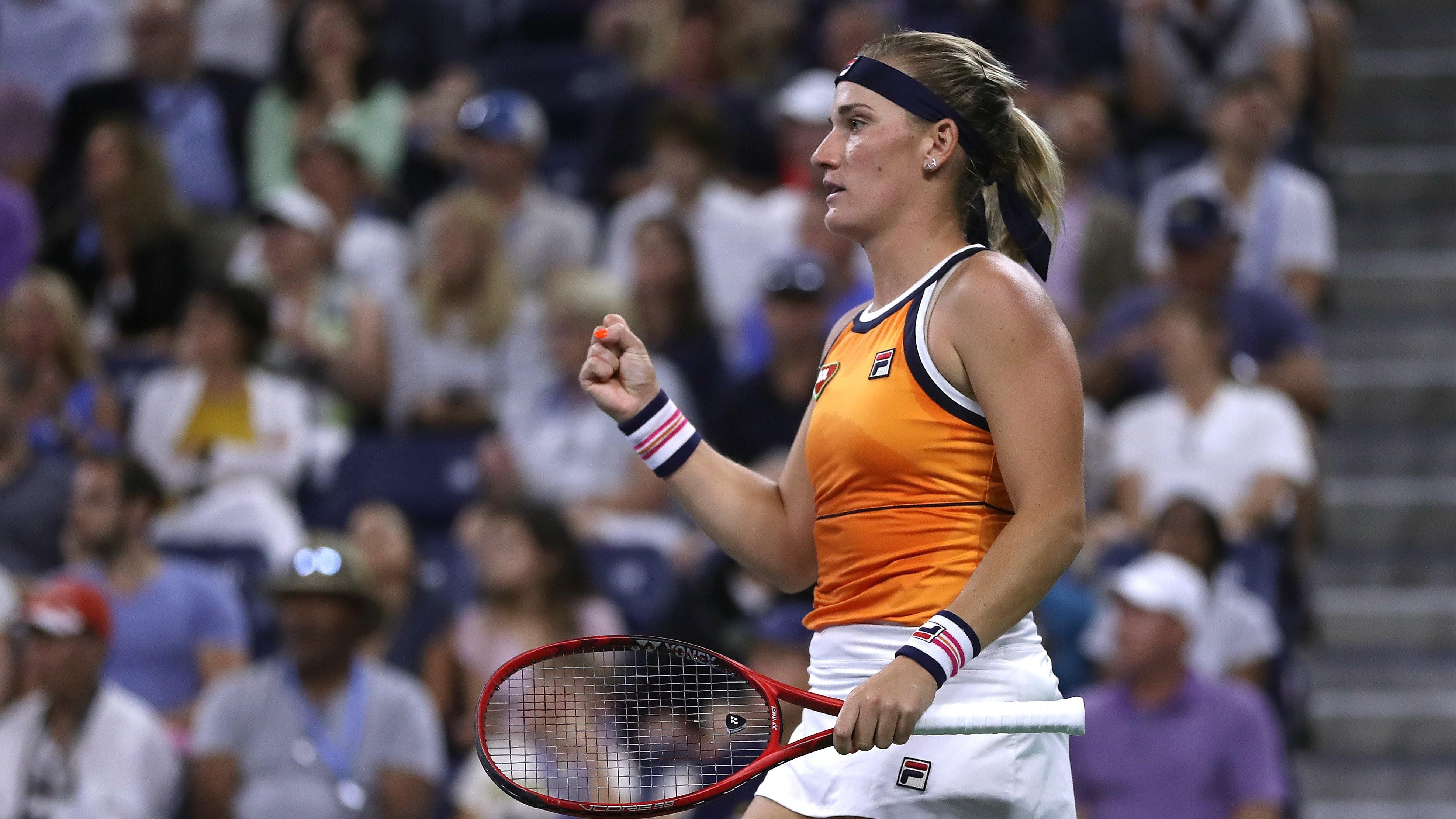 Túl az első fordulón a magyarok női párosban a US Open-en