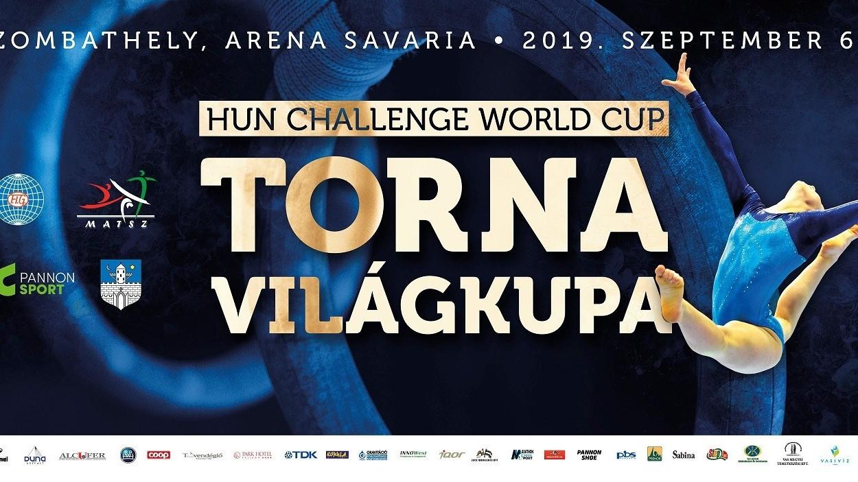 Tíz magyar induló a HunChallenge torna Világkupán Szombathelyen jövő hétvégén