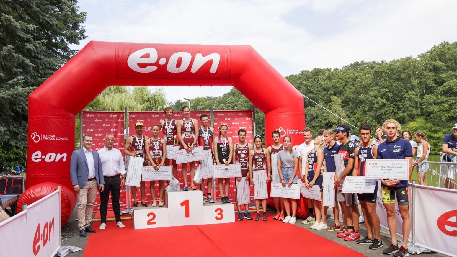 A vb-részvételért versenyeztek a triatlon vegyesváltó-válogatón a sportág hazai legjobbjai