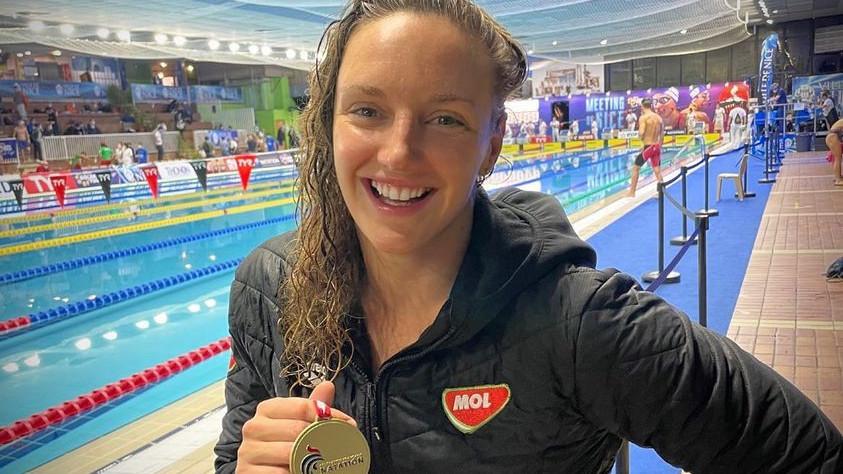 Két magyar aranyéremmel kezdődött a nizzai úszóverseny
