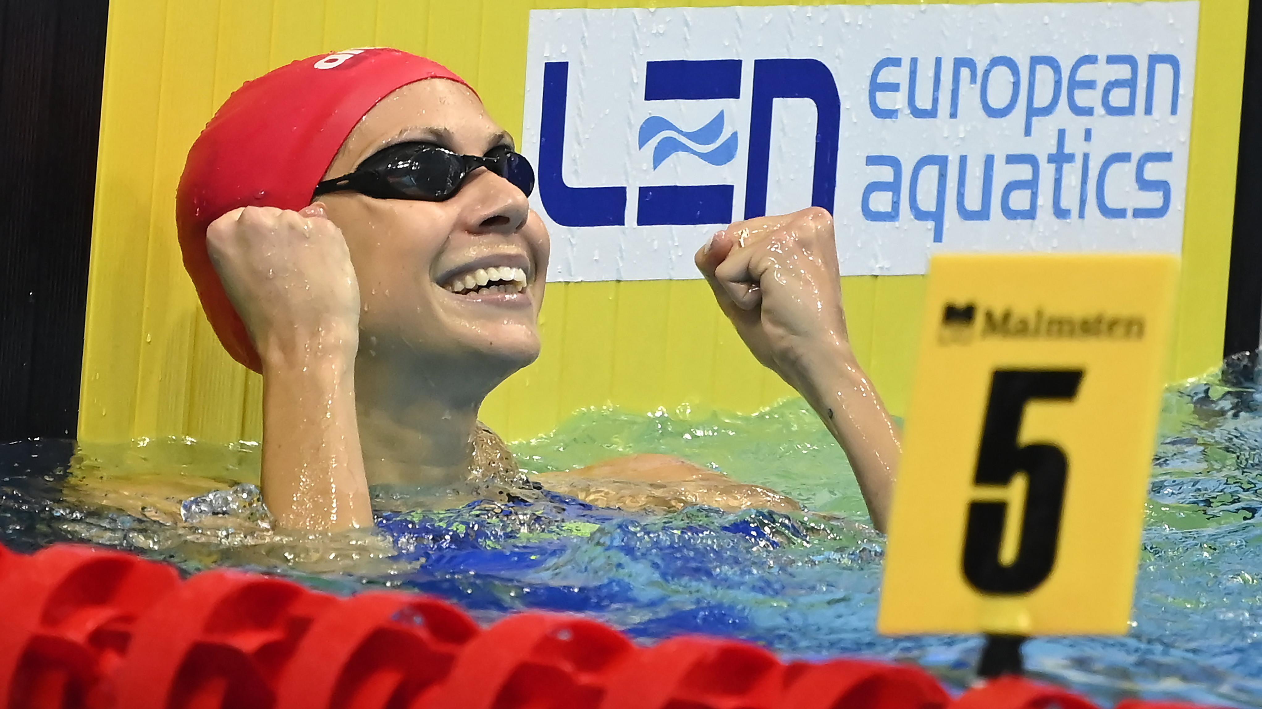 Itt a 38 fős olimpiai úszócsapat