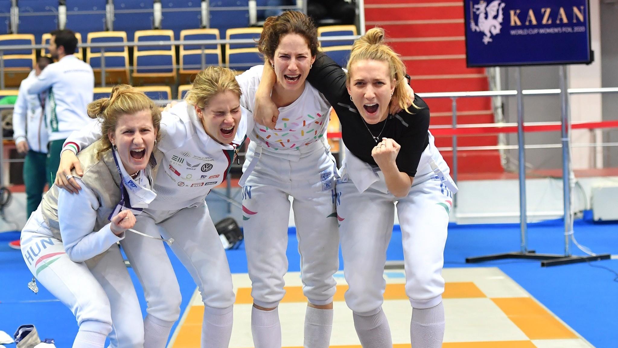 Olimpiai résztvevő a női tőrválogatott