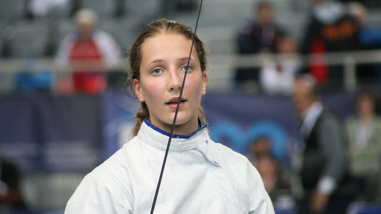 Vívó Eb - Márton Anna bronzérmes női kardban