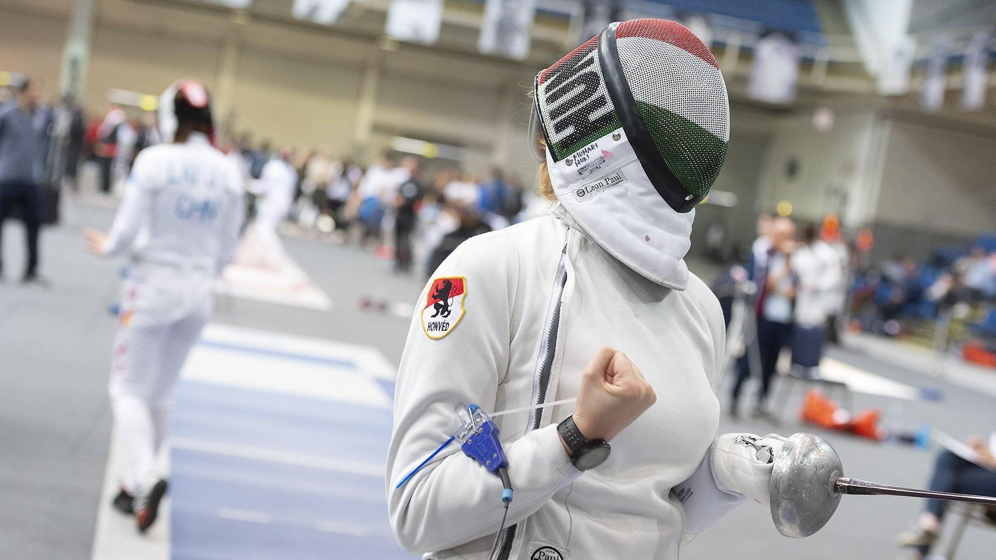 WestEnd  párbajtőr GP - Négy magyar jutott főtáblára a hölgyek selejtezőjéből