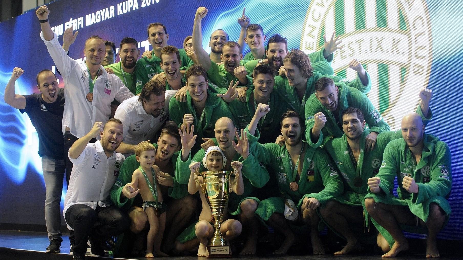 Férfi vízilabda Magyar Kupa - Megvédte címét a Ferencváros