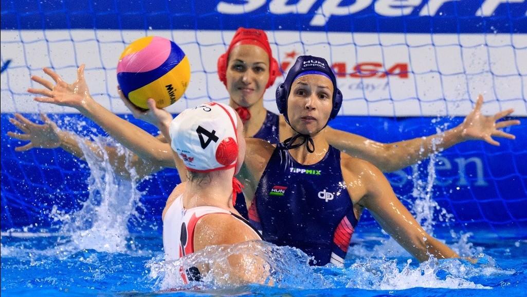 Női vízilabda Világliga Szuperdöntő - Utolsó csoportmérkőzését megnyerte a magyar válogatott