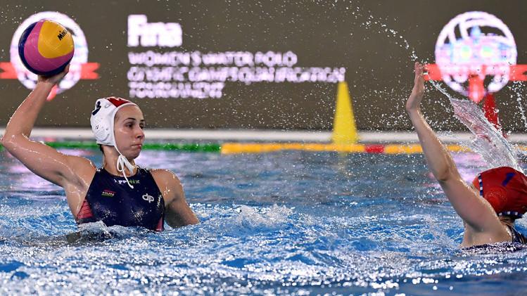 Második meccsét is biztosan nyerte meg a női vízilabda-válogatott Triszetben